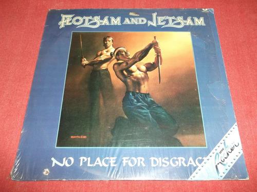 flotsam and jetsam - no place for disgrace lp nac 1988 mdisk