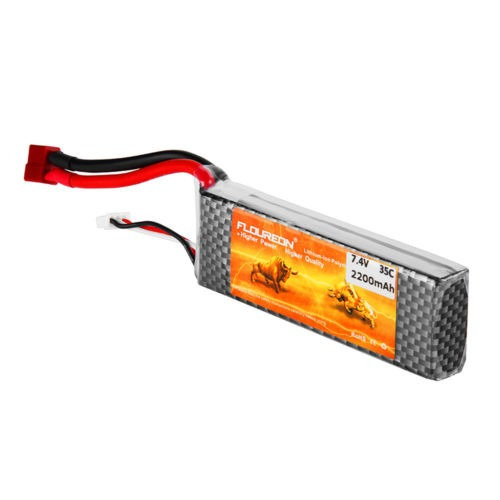 floureon 2s 7.4v 2200mah 35c t enchufe lipo rc batería para