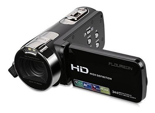 floureon hd 1080p videocámara cámara de vídeo digital dv 2.7