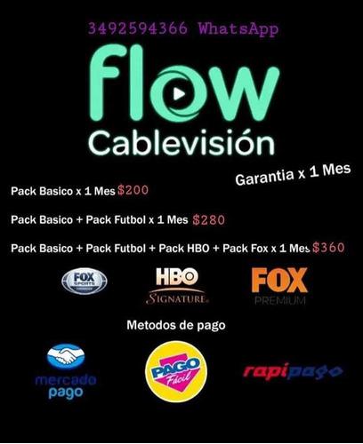 flow cablevisión