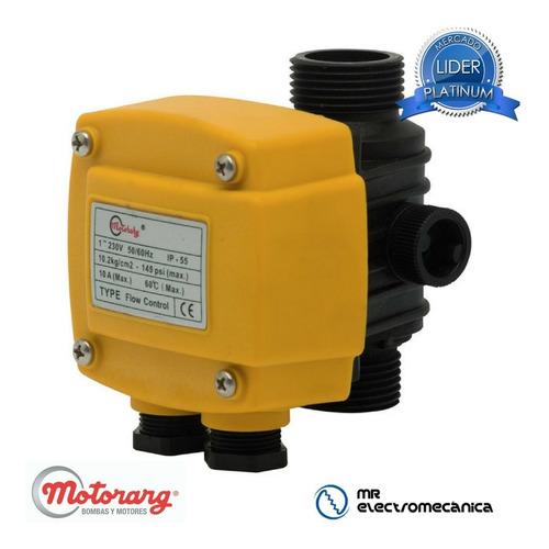 flowcontrol controlador flujo bomba presión agua motorarg