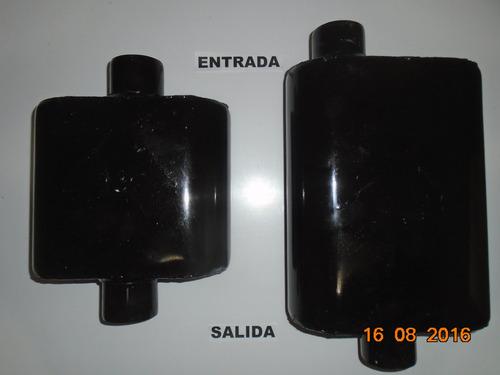 flowmaster serie 10  para vehículos de 4 cilindros