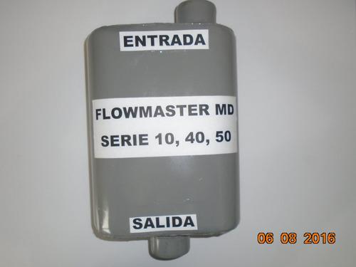 flowmaster series 40, 44 y super 40 para 4,6 y 8 cilindros
