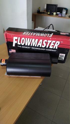 flowmasters originales nuevos varios modelos con calcomania
