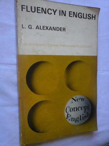 fluency in english l g alexander