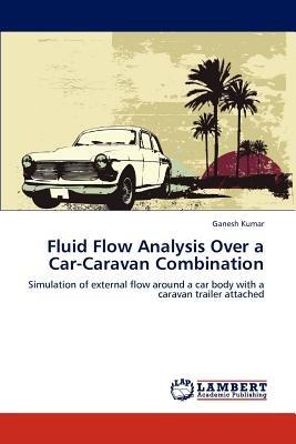 fluid flow analysis over a car-caravan combinat envío gratis