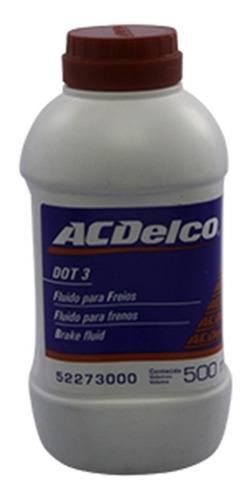 fluido de freio acdelco dot3 500ml