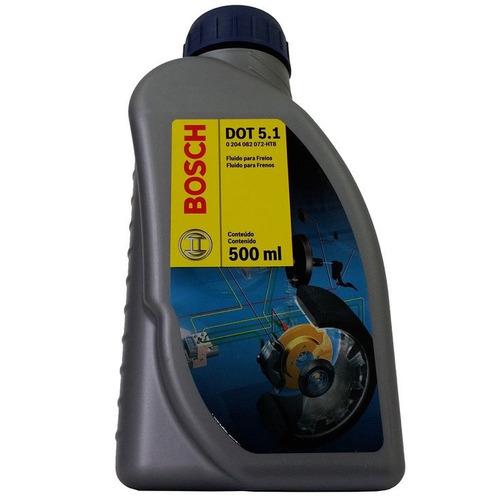 fluído de freio bosch dot 5.1 500ml  para bmw x1 sdrive 28i