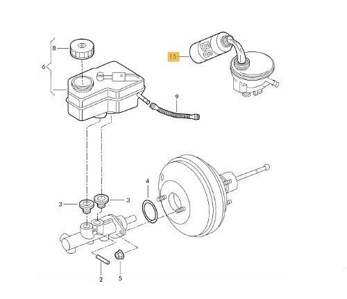fluído de freio bosch dot4 para gm - chevrolet astra