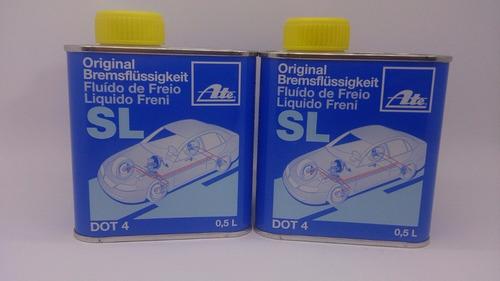 fluido freio dot 4 500ml original ate bremsflussigkeit s l