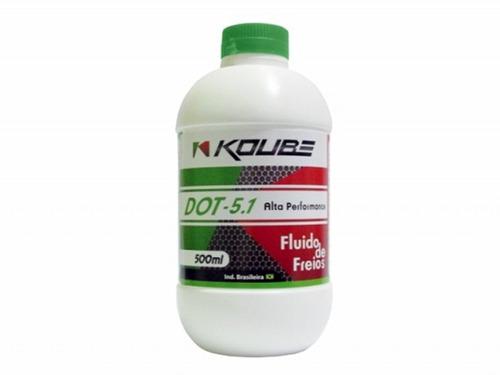 fluido freio dot 5.1 koube excelente qualidade c/2 frascos