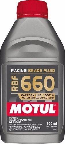 fluído freio racing motul rbf 660 competição 325°c
