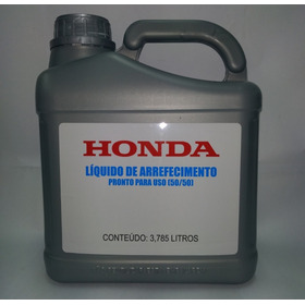 Fluido Honda Civic City Fit Crv Wrv 3,785 Aditivo Radiador
