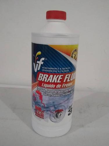 fluido liga de freno fluveca dot 3