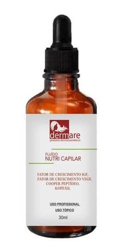 fluído nutri capilar dermare 30ml - microagulhamento