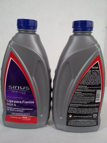 fluido para frenos liga sirius ultralub litro dot4