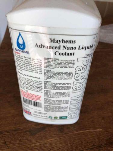 fluido para watercooler mayhems branco radiador 1 litro