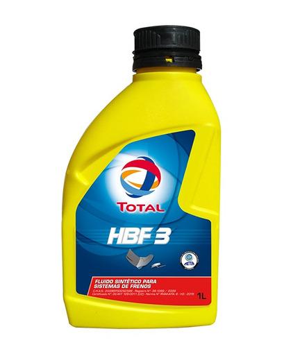 fluido sintético para sistemas de frenos total hbf 3 1l