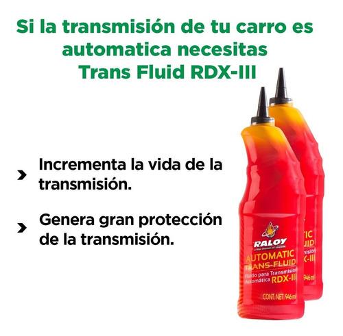 fluido transmisión automática rdx-iii raloy tienda oficial