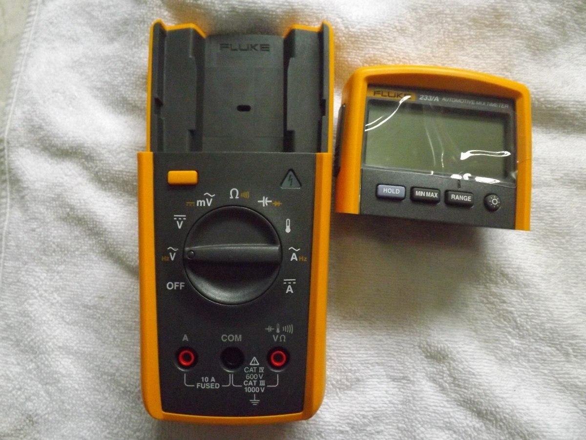 Automotive Digital Multimeter : Fluke a automotive digital multimeter kit r  em