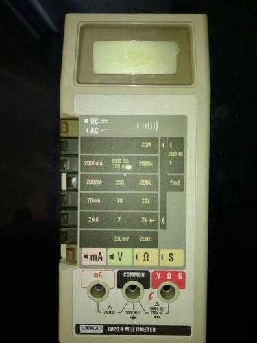 fluke 8020 b usado multimetro