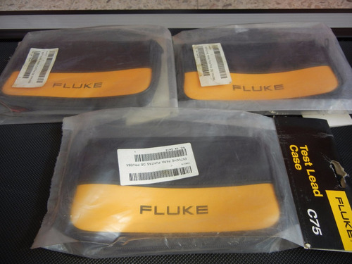 fluke c75 test lead case