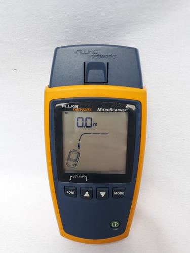 fluke networks ms2-100 microscanner2 red cable verificador