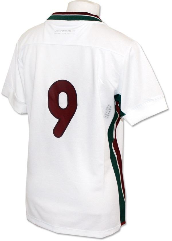 1dd3000e84 Camisa Jogo Fluminense Fem 2016 Dryworld Branca Original - R  109