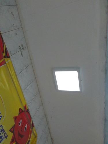 fluorescente led, pantalla, cielo raso
