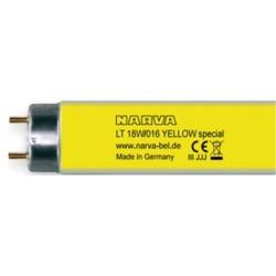 fluorescente linal 18w t8 amarillo ( yellow) de 60 cm narva