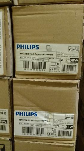fluorescente master tl-d super 80  58w/840 philips