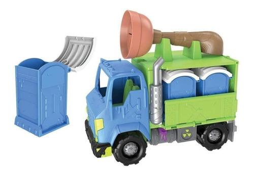 flush force camión con baños quimicos nuevo original bigshop