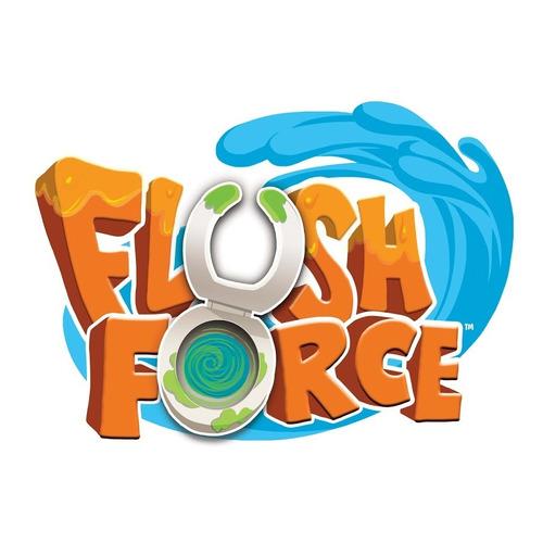 flush force serie 1 inodoro 4 figuras sorpresa mundo manias