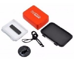 flutuador backdoor gopro hero7 - 6 ou 5 black - aflty-004
