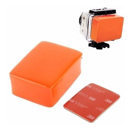 flutuador para câmera gopro floaty backdoor hero 4 3 hd 3+