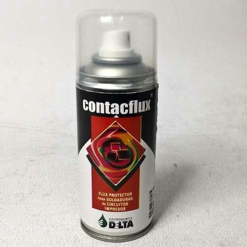 flux aerosol contacflux 180cc soldadura circuito.. anri tv