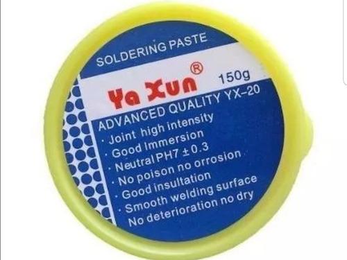 flux pasta para soldar yaxun 150g oferta mayor y detal