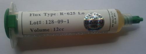 flux rx625 lo para integrados bga  y smd