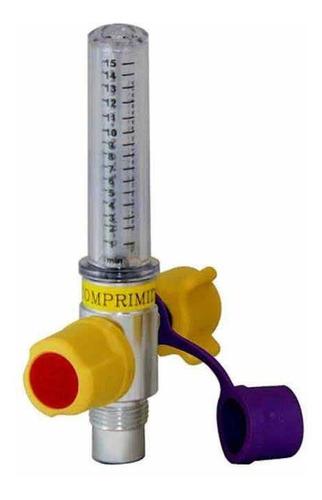 fluxômetro 0 a 15 l/min para ar comprimido (anvisa)