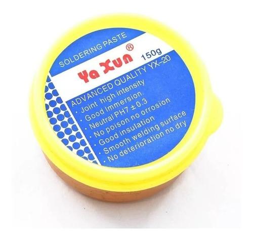 fluxo de solda em pasta pastoso yaxun yx20 yx-20 150g