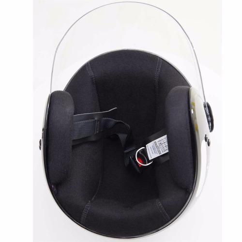 fly aberto capacete moto