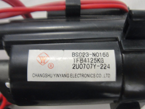 fly back bsc23-n0166 tfb4125kg original semp toshiba tv2159