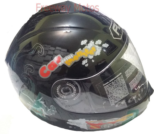 fly motos casco