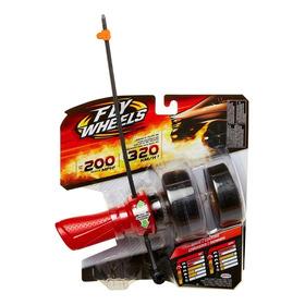 Fly Wheels Lanzador + Rueda Rojo