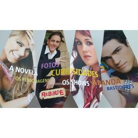 Flyer  Livro Novela Rebelde - A Obra Oficial