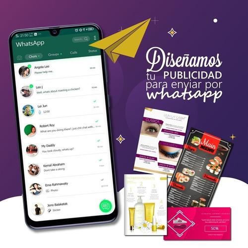 flyer digital para enviar por whatsapp