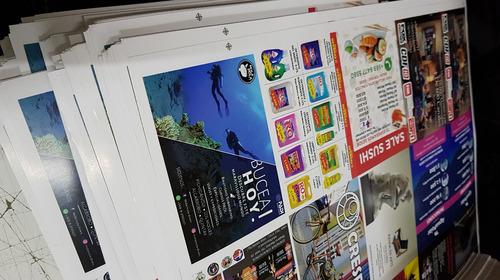 flyer y volantes publicitarios dipticos tripticos afiches
