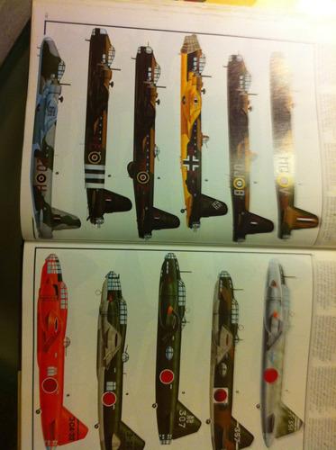flying colours ,catalogo de  modelos aviões antigos/atuais