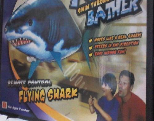 flying shark--tiburon del aire a control remoto ,aventura