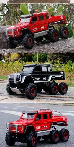 flytec rc coche 1/12 4ch 6wd rock crawler 6x6 conducción cam